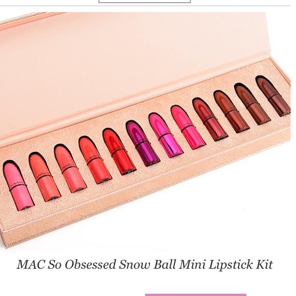 Mac Cosmetics Makeup Lowest Price On Pm Mini Lipstick Kit Mac